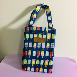 Insulated Lunch Cooler Bag Ice cream Design New